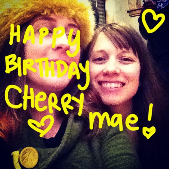 Happy Birthday Cherry Mae